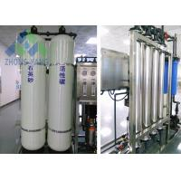 Professional Domestic Water Treatment Plant , Small Scale Water Treatment Systems