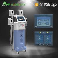 Best 4 handles Vertical 2000W Cryolipolysis cold body sculpting machine wholesale