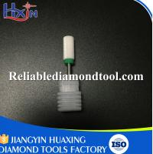 Best Medium Barrel Ball High-end Models Total Length 40MM White Ceramic Drill Bit wholesale