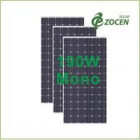 Best High Performance 190W Anti Reflective Coating Solar Panels / Modules wholesale