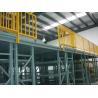 Buy cheap Easy Installation Steel Multi Tier Mezzanine Rack For Warehouse Storage from wholesalers