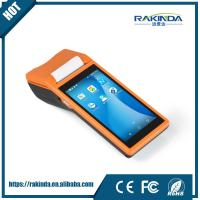Wholesale 7.4V 5000mAh Portable Barcode Scanner Pos Systems Android Terminal With Sim Card from china suppliers