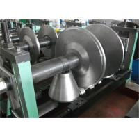 8-15m/min Product Speed Cold Rolled Forming Machines PLC Control Passive Decoiler