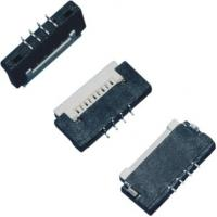 1.0 mm Pitch FPC Connector 4 Pins H 1.5mm Up Contact ZIF Type Soldering