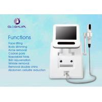 Wholesale Portable HIFU High Intensity Focused Ultrasound Wrinkle Removal Machine Three Treatment Head from china suppliers