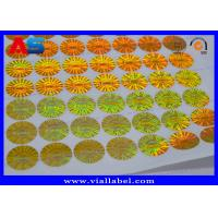Buy cheap Security Custom Hologram Sticker Anti - Fake Protection With Serial Number from wholesalers