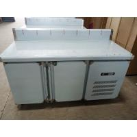 Wholesale Under Counter Double Door Commercial Workbench Refrigerator With Water Bar from china suppliers