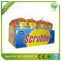 Wholesale hot sell cheap price copper cleaning wool ball/mesh scourer pot cleaning ball from china suppliers