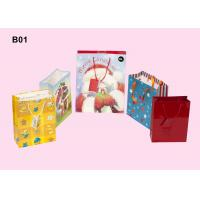 Wholesale Recyclable Paper Carrier Bag, Promotional Paper Bags For Shopping Packaging OEM from china suppliers