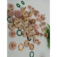 Buy cheap Pink Colour Livestock Ear Tags UHF Ear Tags Thermoplastic Polyurethanes Material from wholesalers