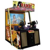 Wholesale Adult Simulator Shooting Arcade Games Machines , New Rambo Stand Up Arcade Machine from china suppliers