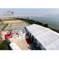 Wholesale 500 People Outdoor Event Party Tent with Stage , Event Marquee with Windows from china suppliers