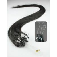 Wholesale Mirco Ring-X Hair Extension Remy Hair 1g/Strand 1b#Straight Texture from china suppliers