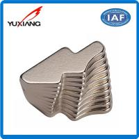 Special Custom Shaped Magnets , Strong Neodymium Magnets Nickel Coating for sale