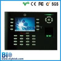 Built-in Camera Fingerprint Based Time Tracking System +Access Control Bio-iclock600 for sale