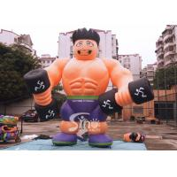 Wholesale 5m high cutom shape advertising inflatable fitness muscle man for GYM promotion from china suppliers