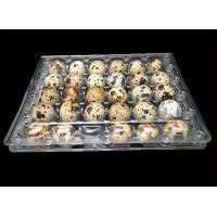 30 Cavities Quail Egg Packaging Trays 5x6 hole Range for sale