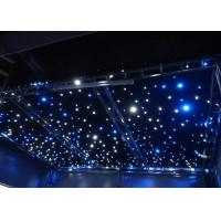 Wholesale AC220V Commercial LED Curtain Lights  Blue / White Bead Background Wedding Stage Star Cloth from china suppliers