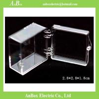 Wholesale Display Gifts Jewelry 4x4 PC Clear Plastic Enclosure Box from china suppliers