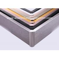 Wholesale Anti Corrosion Brushed Aluminium Skirting Board For Curved Wall Decoration from china suppliers
