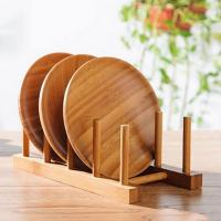 Wholesale Kitchen Wooden Plate Display Rack from china suppliers