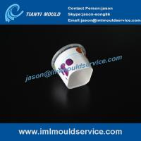 Wholesale 250ml thin-wall injection plastic food packaging mould, IML dry fruits containers mould from china suppliers