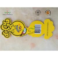 Wholesale Personalized Yellow Octopus Swing Tags Glossy Varnishing Finished 2 Side from china suppliers