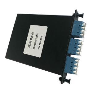 Wholesale Black CWDM DWDM Dual Fiber Mux Demux 8+1 Channel CWDM Splitter With Metal LGX Box from china suppliers