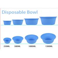 Wholesale Medical Disposable Kidney Dish , Blue Disposable Bowls Surgical Plastic Standard from china suppliers