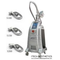China 3 Cryo Handles Cryotherapy Body Slimming Equipment For Cellulite Reduction on sale