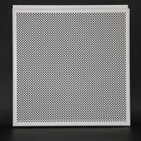 Wholesale White Aluminum Perforated Hook Drop Suspended Metal Ceiling Tiles Non - Flammable from china suppliers