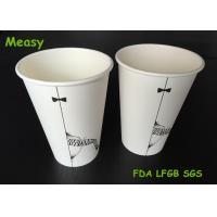 Wholesale Popular 16oz disposable coffee cups , Hot Milktea Single Wall Paper Cups 500ml Capacity from china suppliers