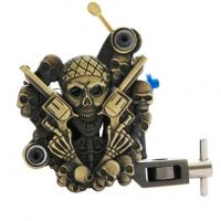 Wholesale Handmade Carbon Steel Empaistic Tattoo Machine with 10 wrap coils from china suppliers