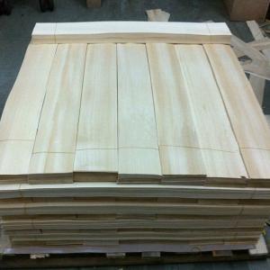 China Light Yellow Wood Flooring Veneer Natural , Hardwood Floor Veneer on sale