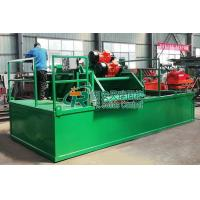 China Oilfield Drill Rig Parts Linear Motion Shale Shaker , Drilling Fluids Mud Shale Shaker on sale