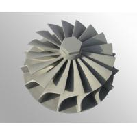 Buy cheap vacuum investment casting High temperature nickel base alloy turbo wheel raw from wholesalers