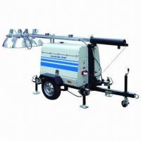 Wholesale Mobile Lighting Tower Powered by Kubota Diesel Engine from china suppliers