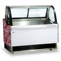Low Noise Fan Forced Ventilation Gelato Showcase, Energy Saving Commercial Chest Freezer with 2000mm Length for sale