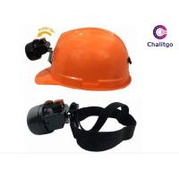 Buy cheap 2800MAH Cordless Mining Lamps for Sale Hard Hat 10000 Lux with Charger from wholesalers