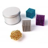 Colorful Coating Custom Neodymium Magnets , N35 Bucky Toy Neodymium Sphere Magnet for sale