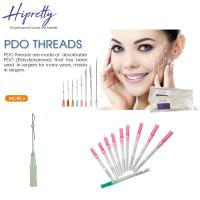 Wholesale Skin care medical face lifting pdo thread needle Single/Screw/3D-COG thread from china suppliers
