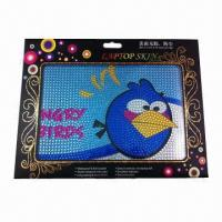 Wholesale Laptop Skin, non-stick Dirt, Measures 12.2 x 8.3cm, Available in 14 Designs from china suppliers