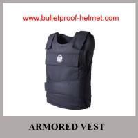 Wholesale Wholesale Cheap China NIJ Navy Blue Aramid UD UHMWPE Bulletproof Armored Vest from china suppliers