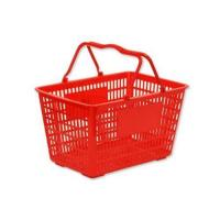 Wholesale Plastic Shopping Basket Red from china suppliers