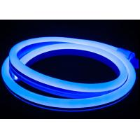Wholesale Blue LED Neon Tube Light 14mm * 26mm Dimension 10W / M Power Low Heat from china suppliers