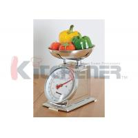 Wholesale FDA Stainless Steel Digital Kitchen Scale With Round Tray 20 Kgs * 50 Gram from china suppliers