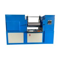 Wholesale Customized Roller PLC Lab Two Roll Mill with Emergency Protection Device from china suppliers