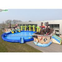 Wholesale Strong Huge Pirate Ship Inflatable Pool Toys For Children N Adult from china suppliers