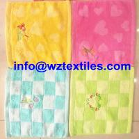 Wholesale Super Soft Bright Colors Children Face Towels from china suppliers