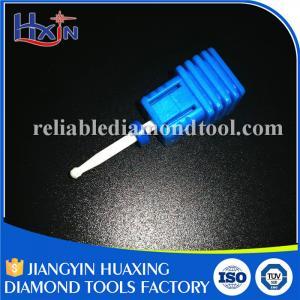 Best Fine and Medium Type Diamond Nail Bit , Ceramic Electric Nail File Drill Bits wholesale